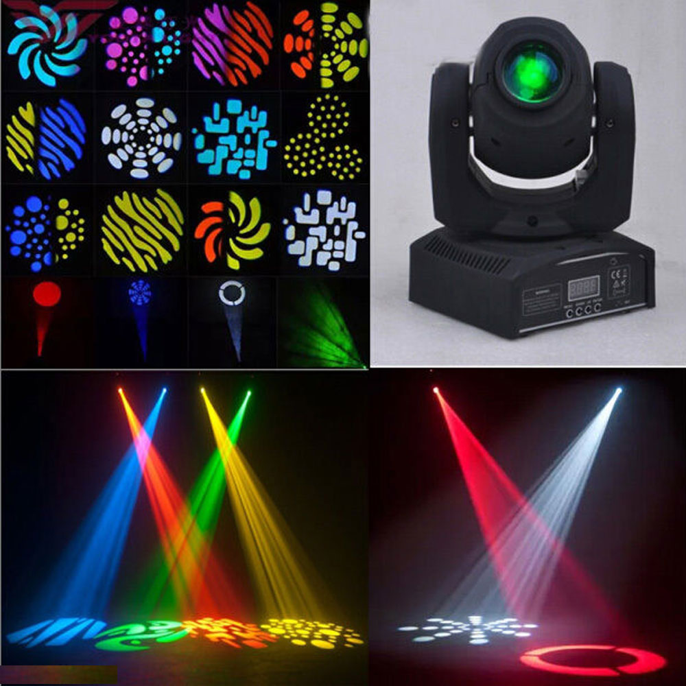 50w led 8 pattern beam moving light dmx512 dj club party stage