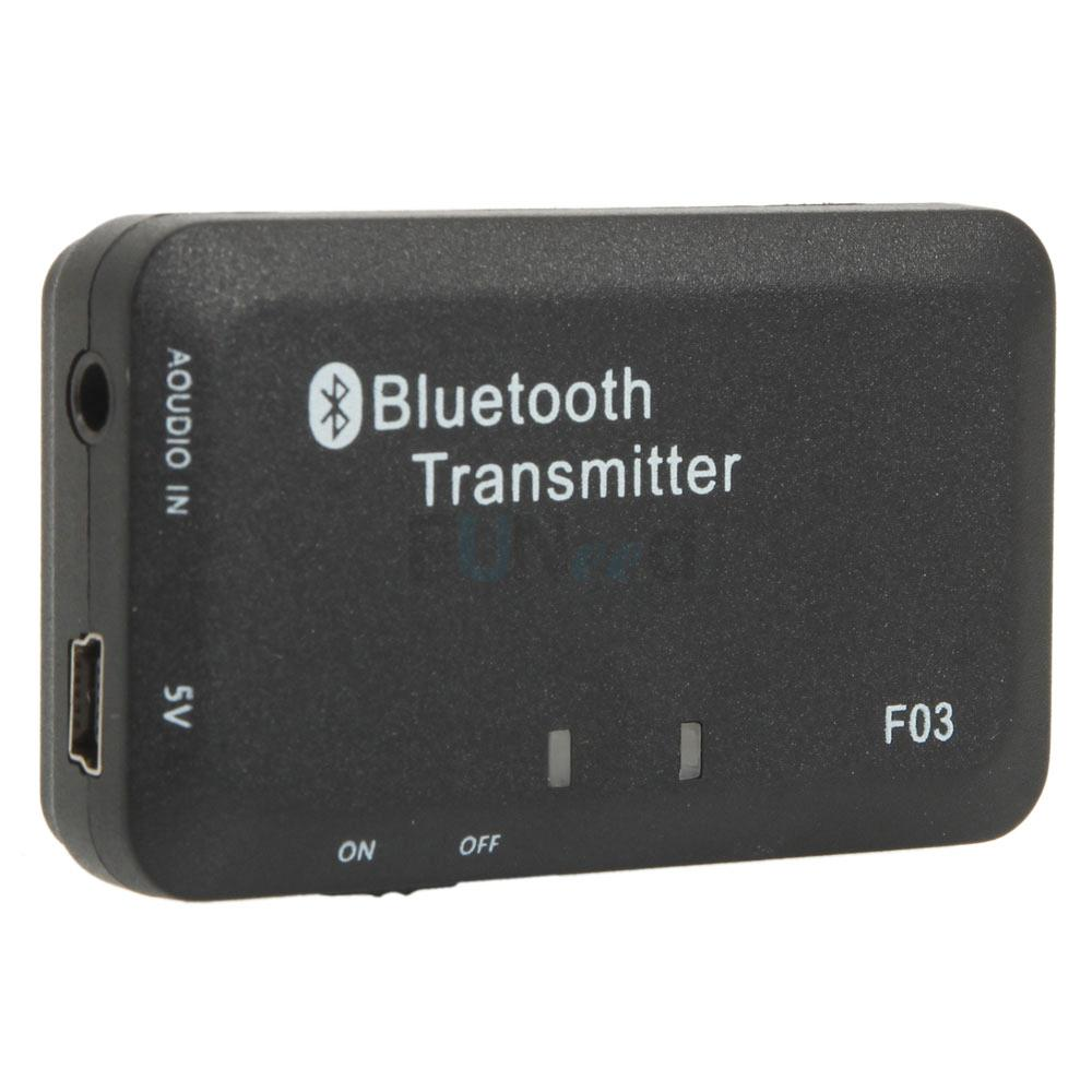3.5mm Audio Bluetooth Transmitter A2DP Stereo Dongle Adapter for Mp3 TV iPod PSP | eBay